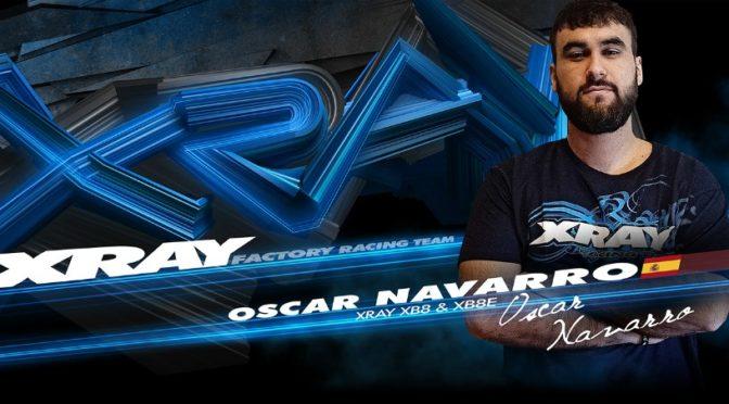Oscar Navarro is wechselt zum XRAY Racing Team