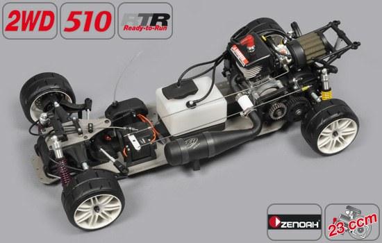 Readysets zum Einstieg – SPORTSLINE CHASSIS 510 2WD mit freier Karosseriewahl