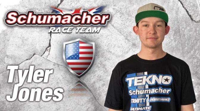 Tyler Jones jetzt mit Schumacher Racing in 2WD