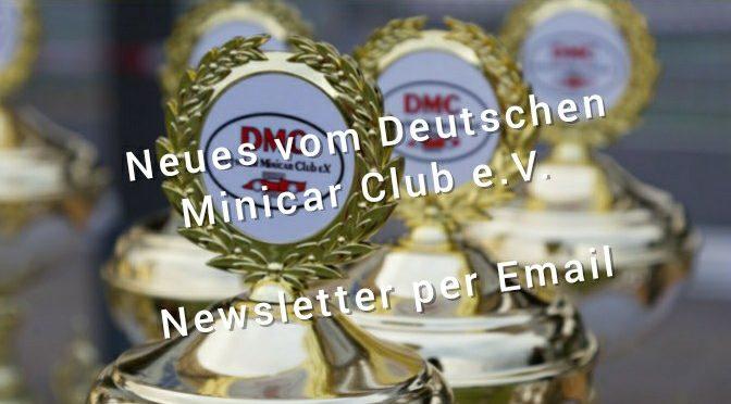 Informationen der DMC Mitglieder*inner per Newsletter