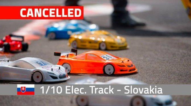 EFRA EM TC 1/10 2021 in der Slowakei abgesagt