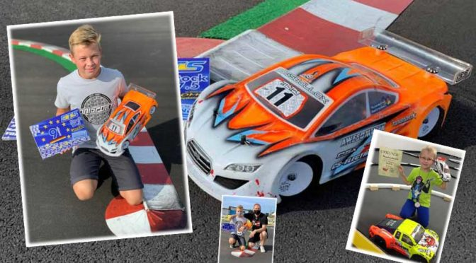 KIDS im Modellbau – Maximilian Unterschütz ist begeisterter Elektro 1/10 TW Fahrer