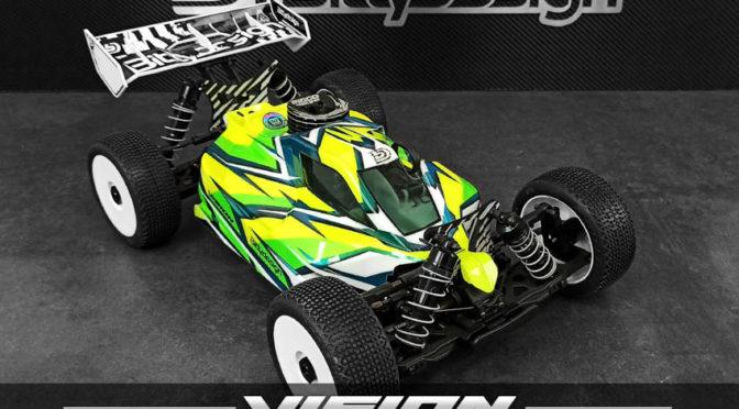 Neu –  1/8 Buggy VISION Karosserie für das JQ THECar by Bittydesign Co.
