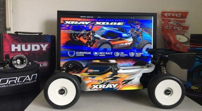 Bereit zum Saisonstart – Der XRAY XB8e'21 von Victor Gabriel