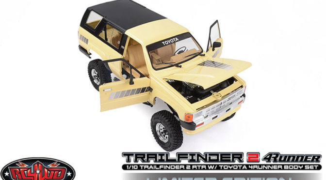 RC4WD TRAIL FINDER 2 RTR W/ 1985 TOYOTA 4RUNNER HARD BODY SET (LIMITED EDITION)