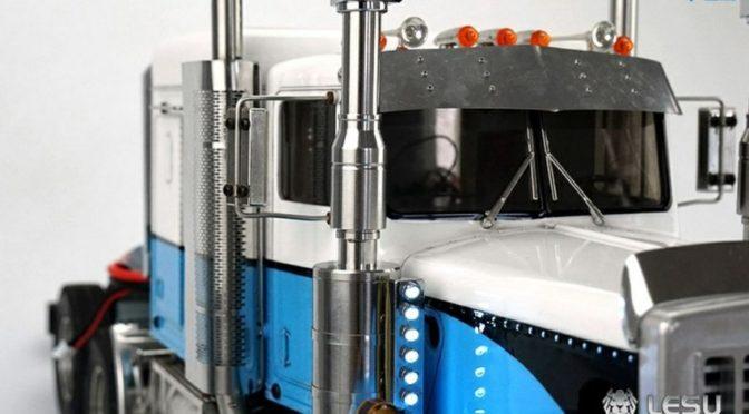 Luftfilteranlage aus Alu für US-Modelle mit LED