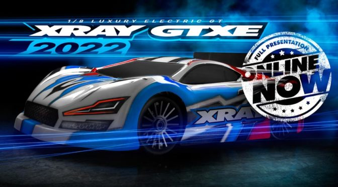 GTXE'22 – Xray präsentiert den Elektro 1/8 GT