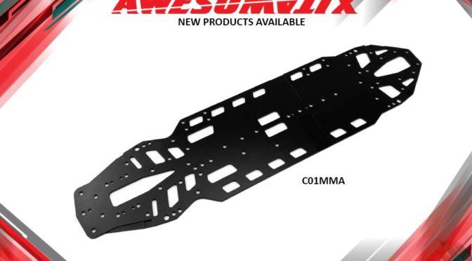 Aluminiumchassis für den A800MMX/MMXA