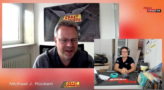 LaserFoams von Crazy Crawler – Michael J. Rückert im Interview