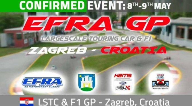 EFRA – Internationales Rennen Large Scale TC & F1 in Kroatien