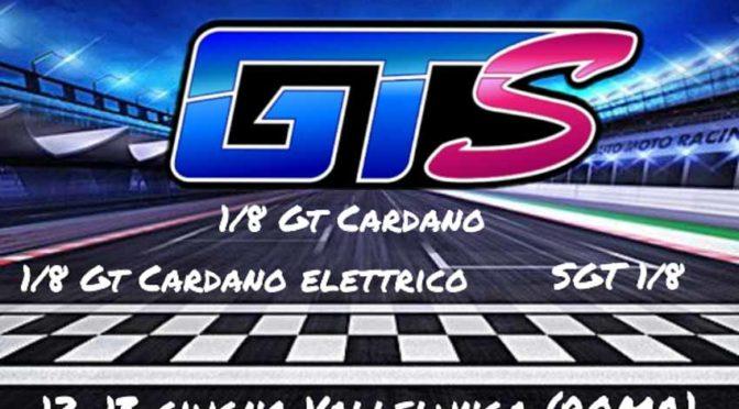 GTS 1/8 auf dem  Autodromo di Vallelunga in Italien