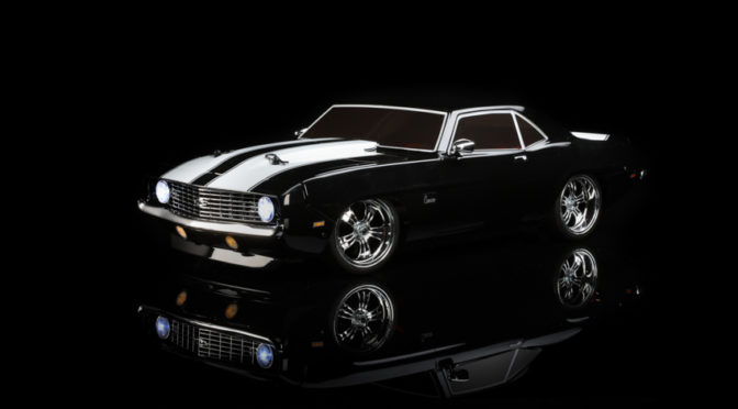 Cooler Look – Losi® 1969 Chevy Camaro V100 AWD Brushed RTR