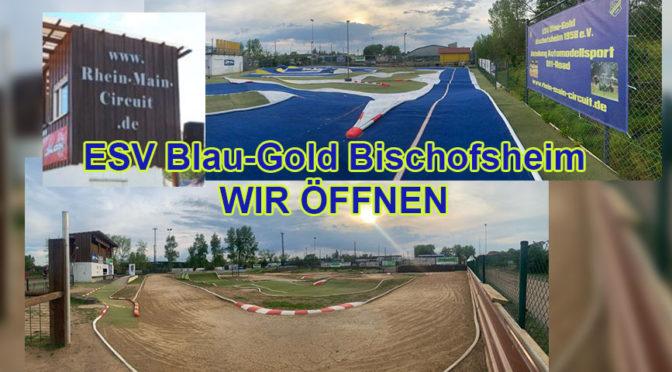 Training möglich – Gastfahrertage 2021 beim ESV Blau-Gold Bischofsheim