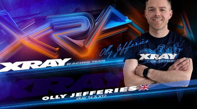 Olly Jefferies wechselt in Xray Racing Team