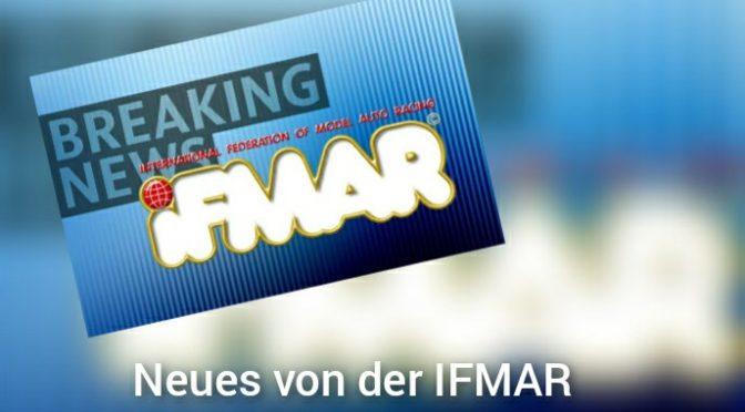 IFMAR – Aktuelles zum Rennkalender 2021/22