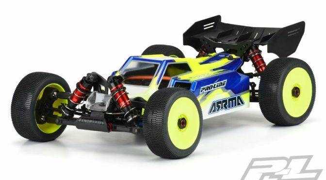 Axis Clear Karosserie für den TYPHON 6S von Pro-Line Racing