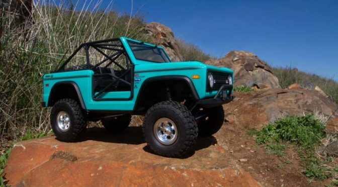Axial® SCX10™ III Early Ford Bronco  4WD Scale Crawler RTR
