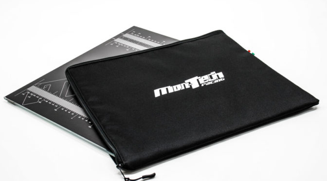 Einstellplatte und Tasche von Mon-Tech Racing für 1/8