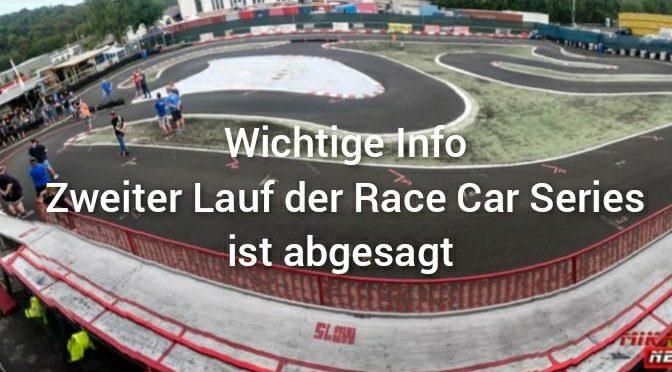 Kurzfristige Absage der Race Car Series in Bad Breisig