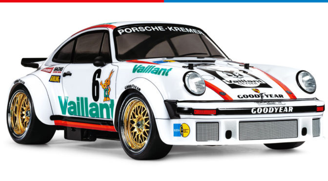 Tamiya Porsche 934 Coupe Vaillant TA02SW 45th Anniversary