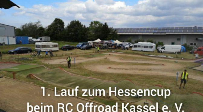 Der RC Offroad Kassel e. V. lädt zum ersten Lauf Hessencup 2021