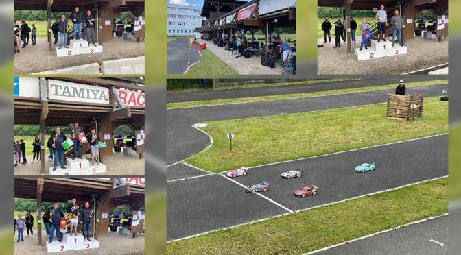 Regen, nicht in Sonneberg! GTS –OST SK Lauf auf dem TAMIYA – Raceway Sonneberg