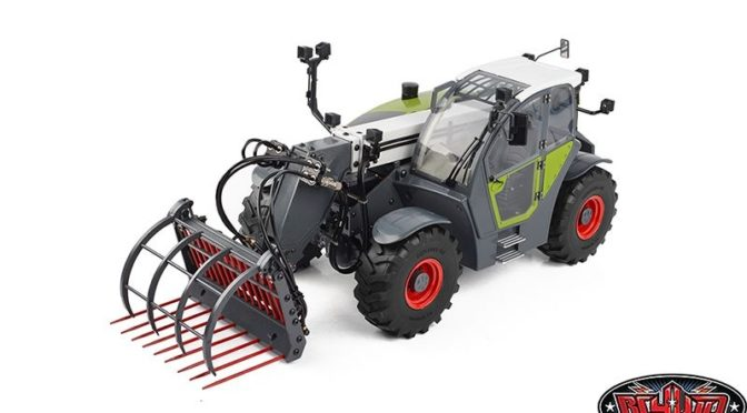 1/14 Grabber Telescopic Hydraulic RC Forklift RTR RC4WD