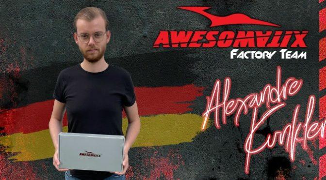 Alex Kunkler bei Awesomatix im Factory Team
