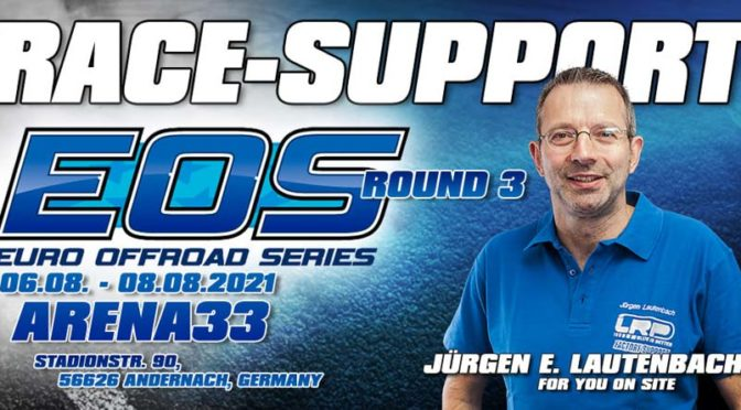 Race-Support von LRP beim EOS R3 – Arena33