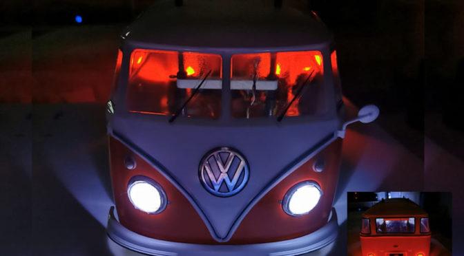 Es werde Licht am VW Bus T1 von Tamiya