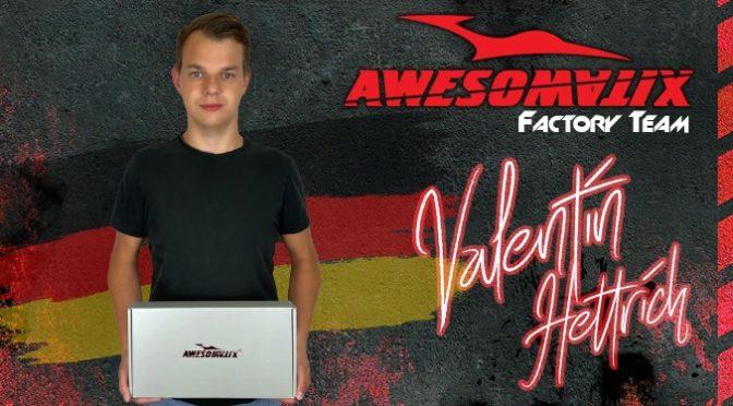 Valentin Hettrich wechselt zu Awesomatix