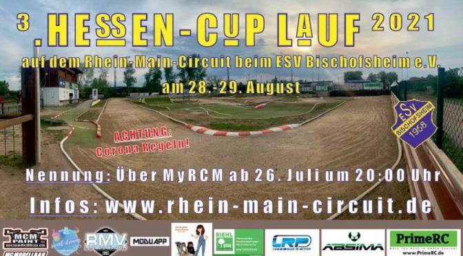 3.Lauf zum Hessencup 2021 auf den Rhein-Main-Circuit