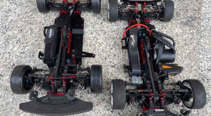 Auf FWD umgebaut – SNRC Modell R3-G Mittelmotor