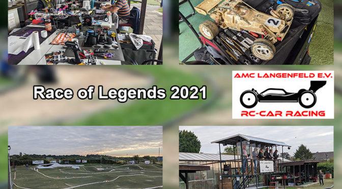 Nostalgie beim Race of Legends 2021 beim AMC-Langenfeld