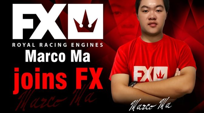 Marco Ma  wechselt ins Team FX Engines