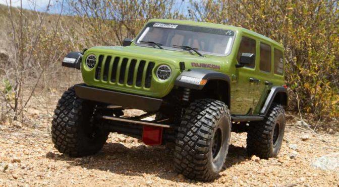 BIG Scaler – Axial® SCX6 Jeep® JLU Wrangler 4WD RTR