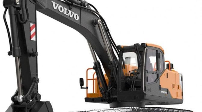 EC160E Volvo-Vollmetallbagger elektrisch 1:14 Double-E Hobby
