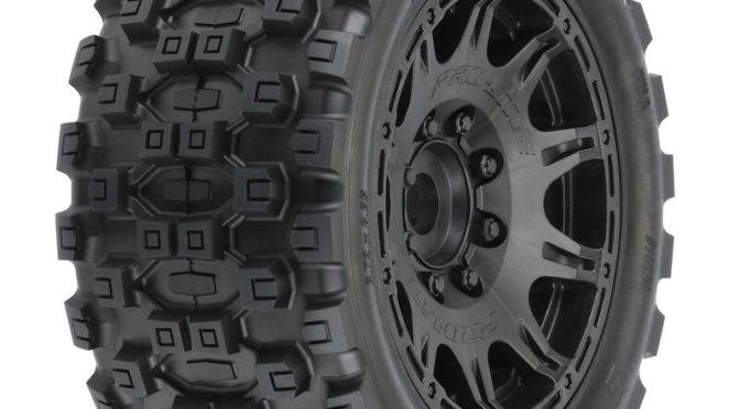 1/6 Badlands MX57 5.7″ Kompletträder 24mm Black Raid