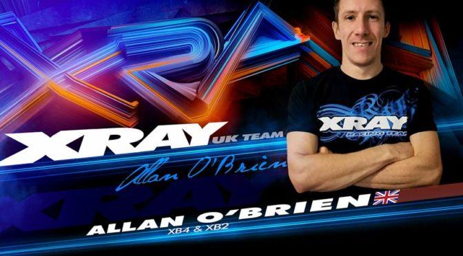 Allan O'Brien setzt auf XRAY
