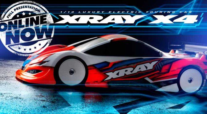 Das Warten hat ein Ende – Xray präsentiert den X4